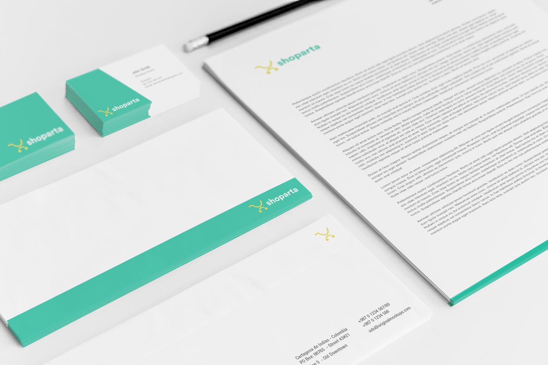 Sample branding #2 for Shoparta
