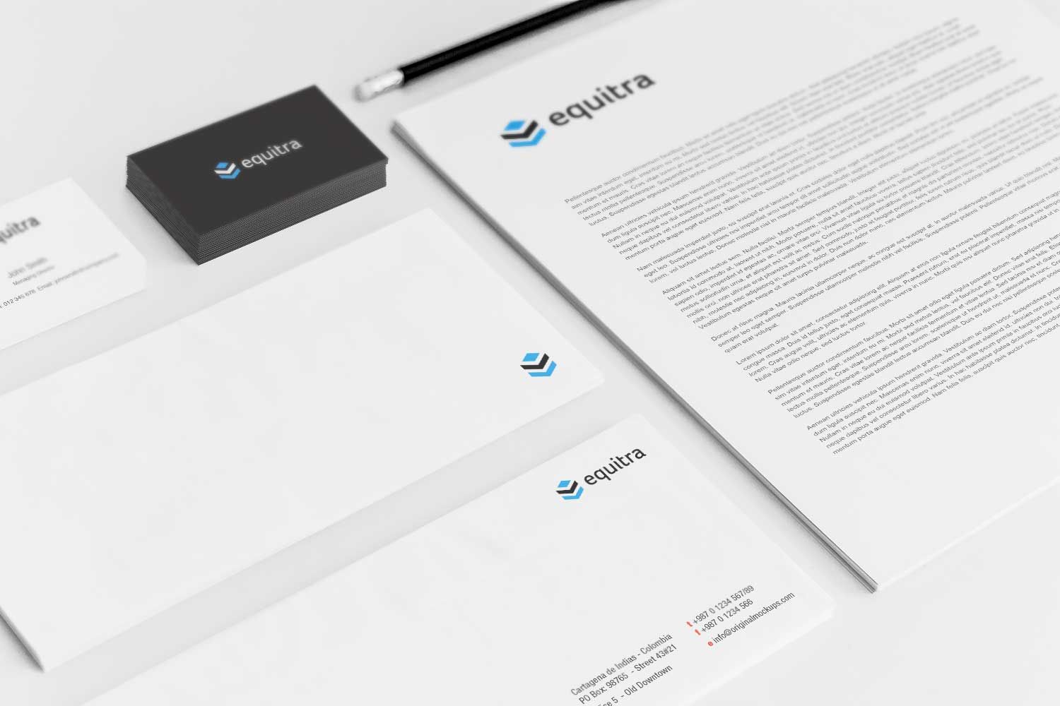 Sample branding #3 for Equitra
