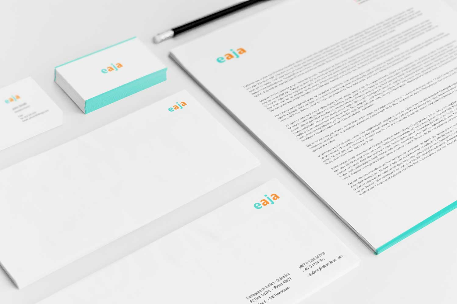 Sample branding #3 for Eaja
