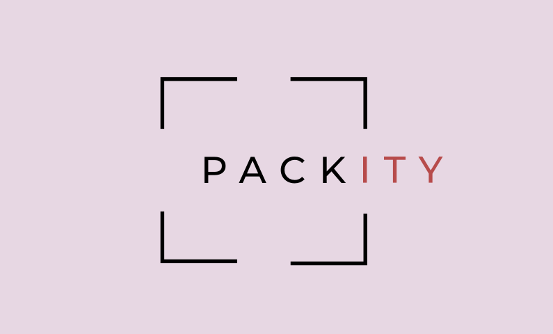 "Packity - Catchy play on the word ""pack"""