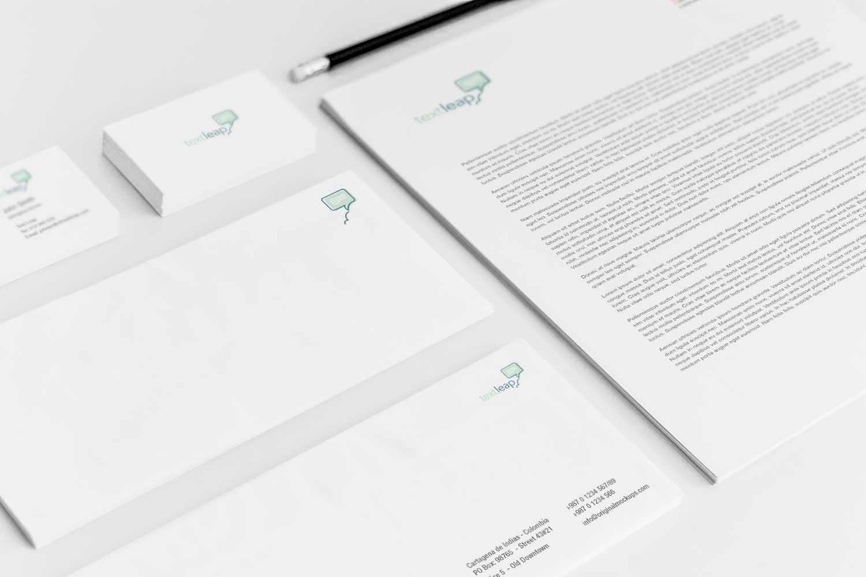 Sample branding #3 for Textleap