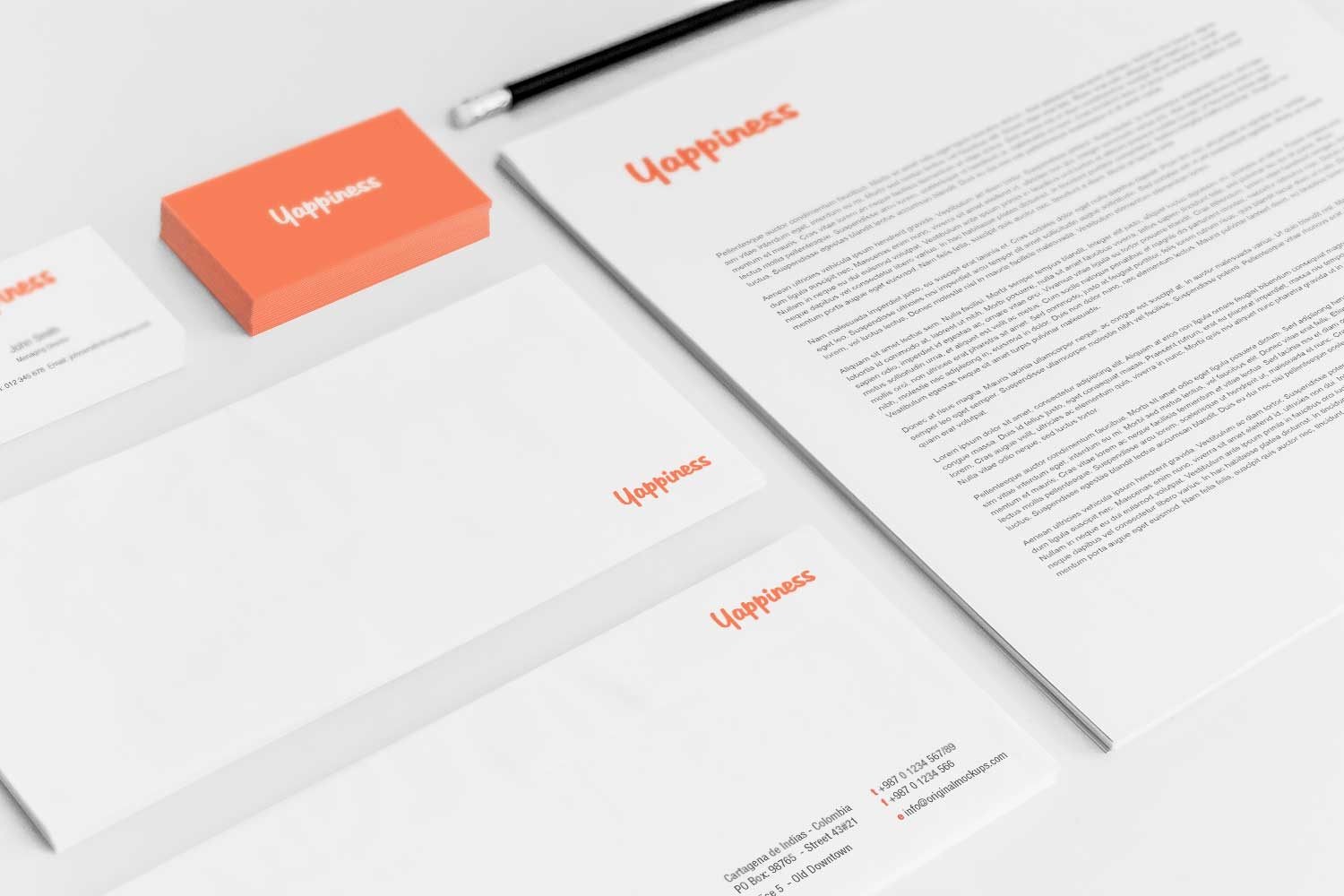 Sample branding #3 for Yappiness