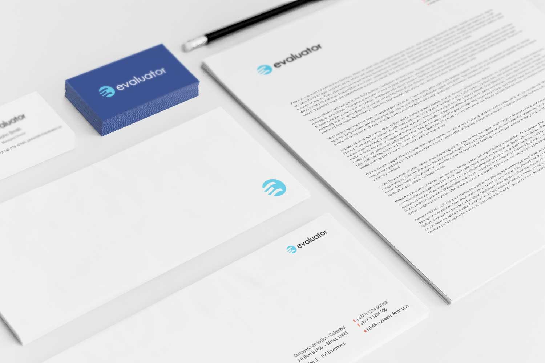 Sample branding #3 for Evaluator
