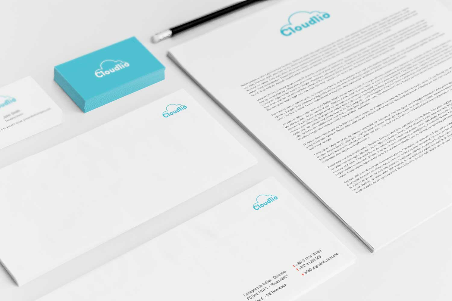 Sample branding #3 for Cloudlio