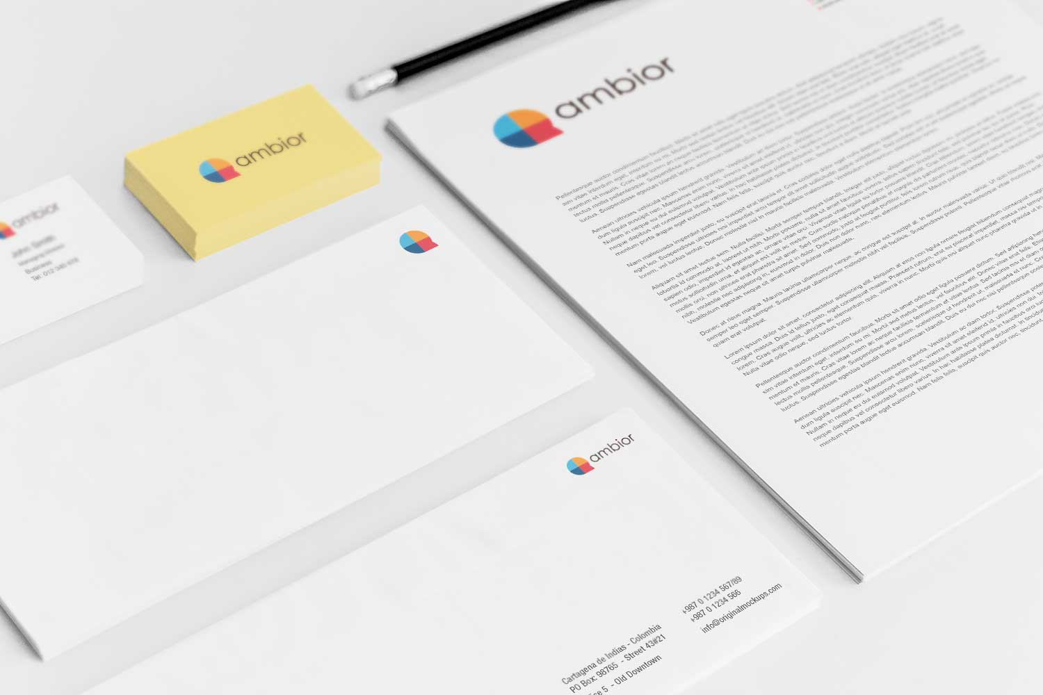 Sample branding #3 for Ambior