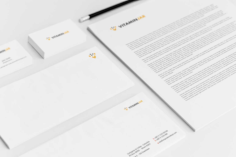Sample branding #3 for Vitaminjar