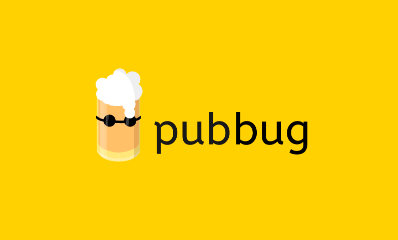 Pubbug - Fantastic domain combining pub and bug