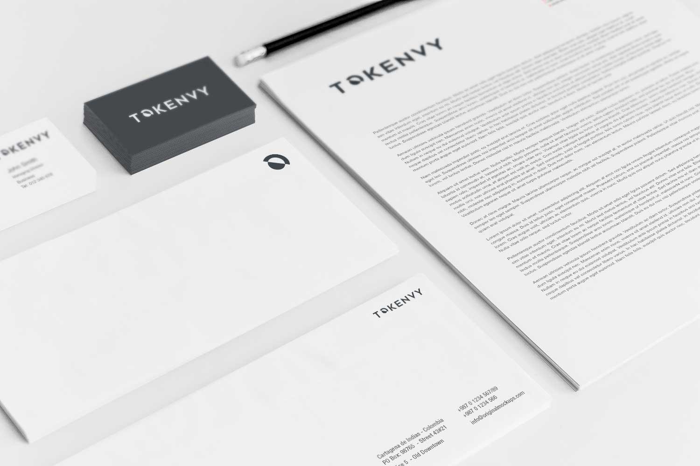Sample branding #3 for Tokenvy