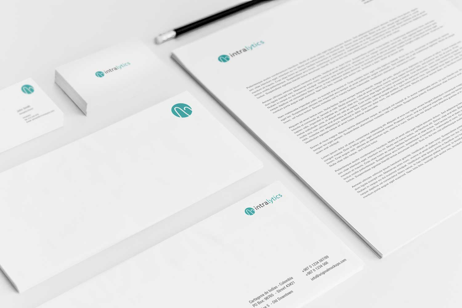 Sample branding #2 for Intralytics