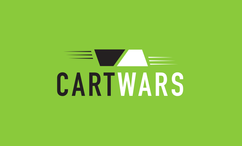 Cartwars - Powerful business name for a shopping service