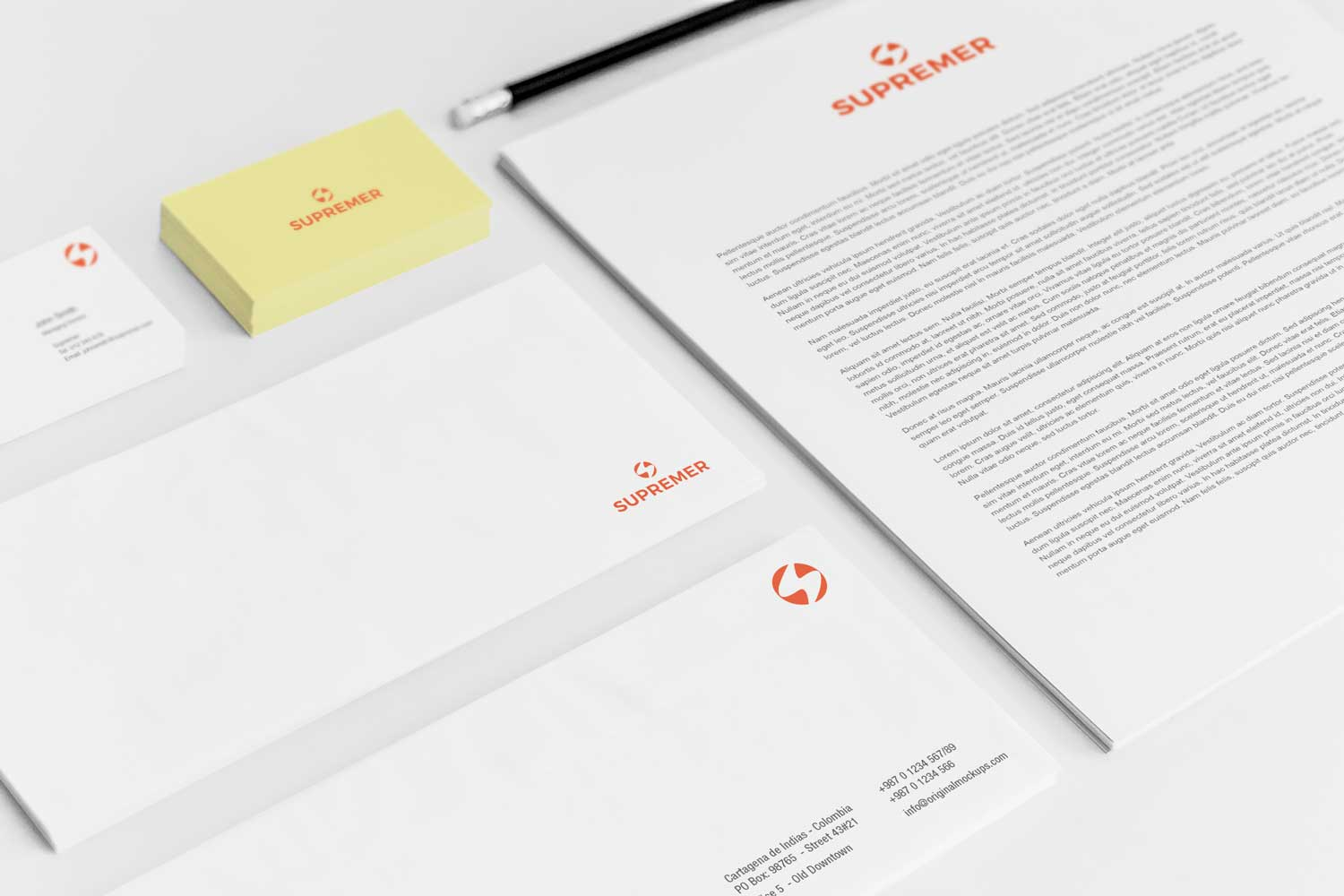 Sample branding #3 for Supremer