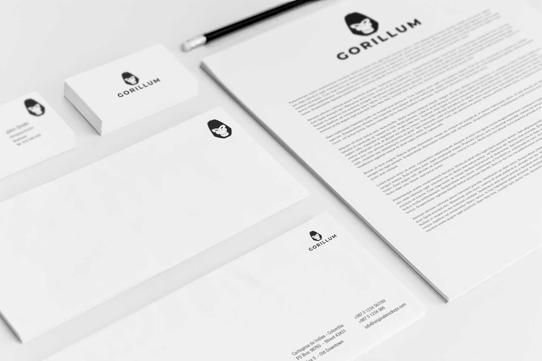 Sample branding #3 for Gorillum