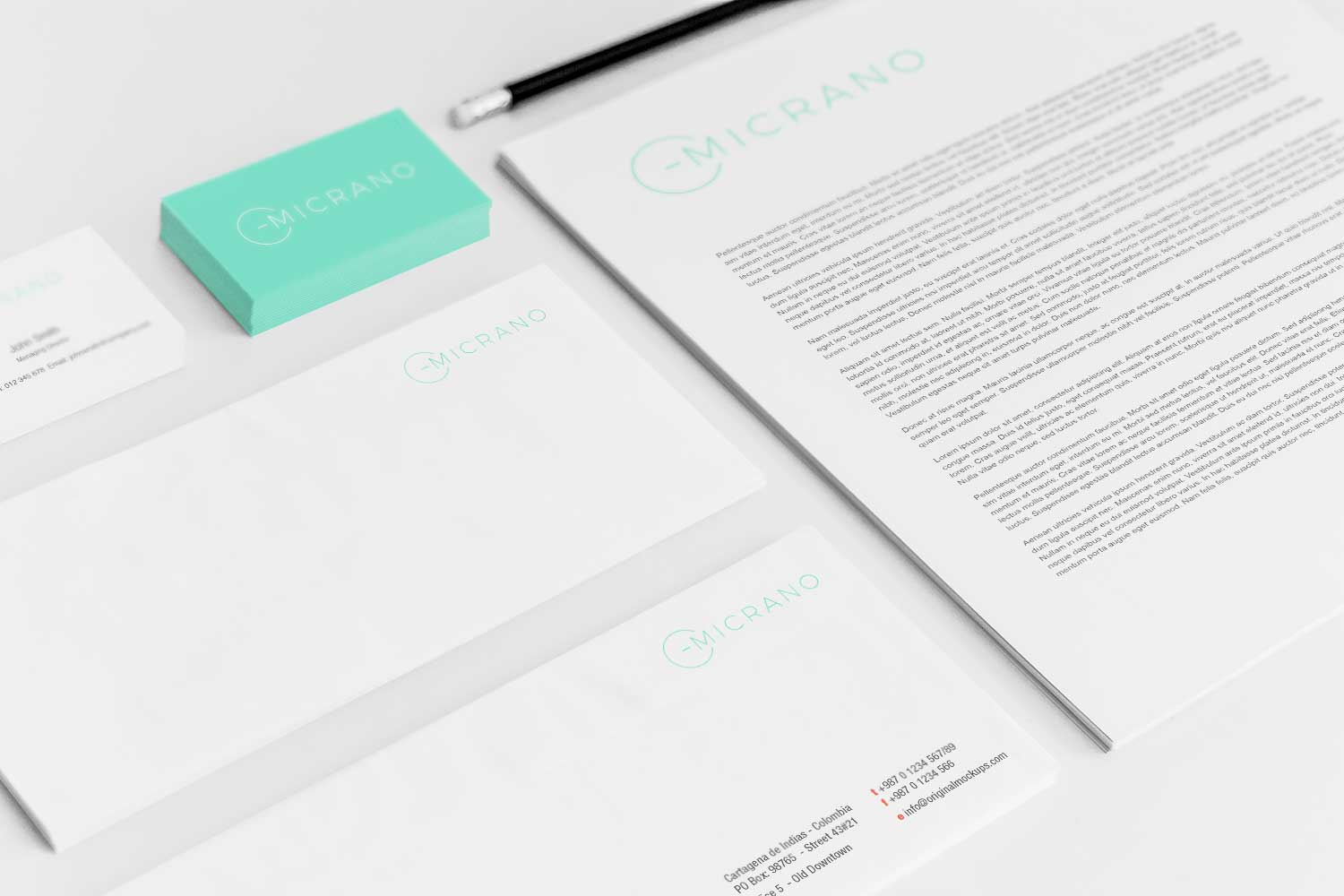 Sample branding #3 for Micrano