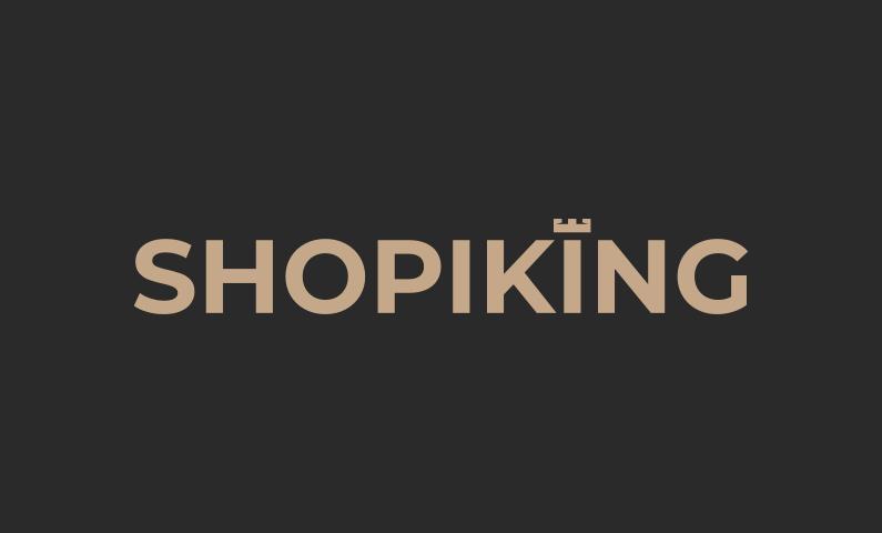 Shopiking - E-commerce company name for sale
