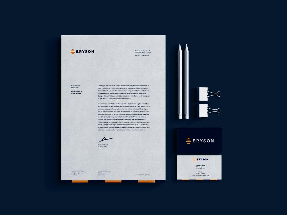 Sample branding #3 for Eryson