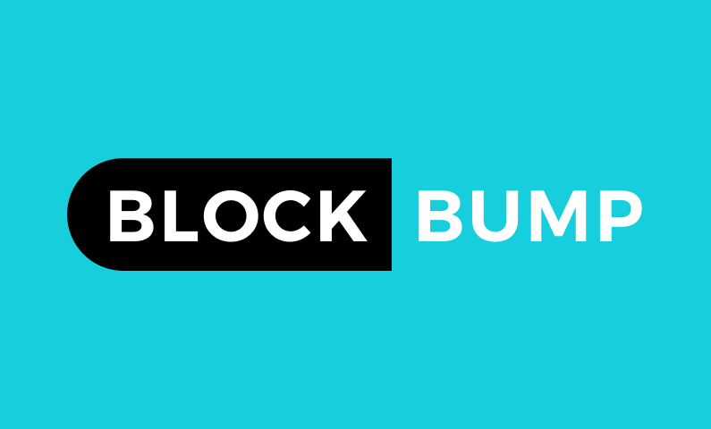 Blockbump - Cryptocurrency domain name for sale