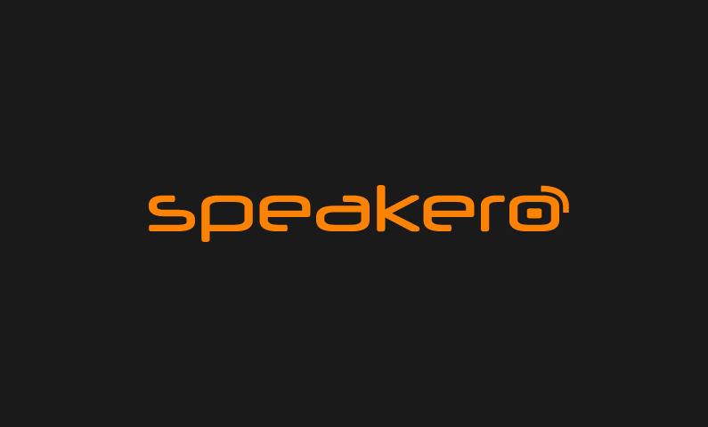 Speakero - Ideal domain for a speaking brand