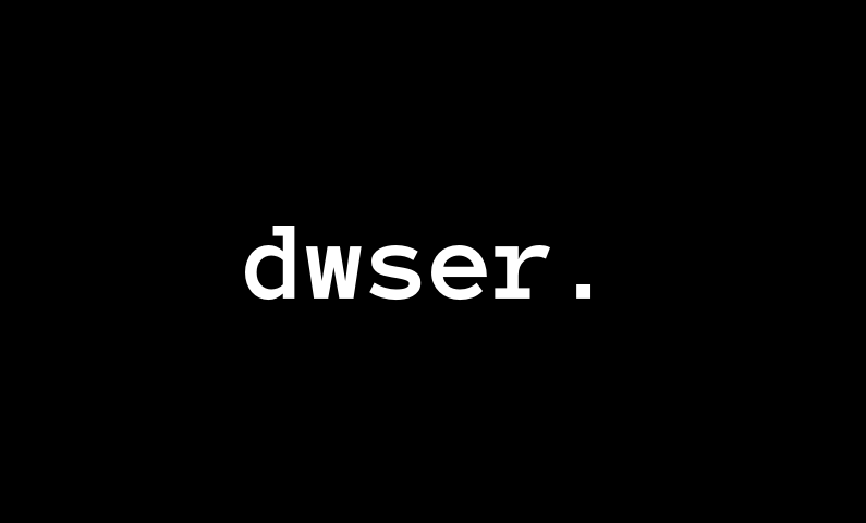 Dwser