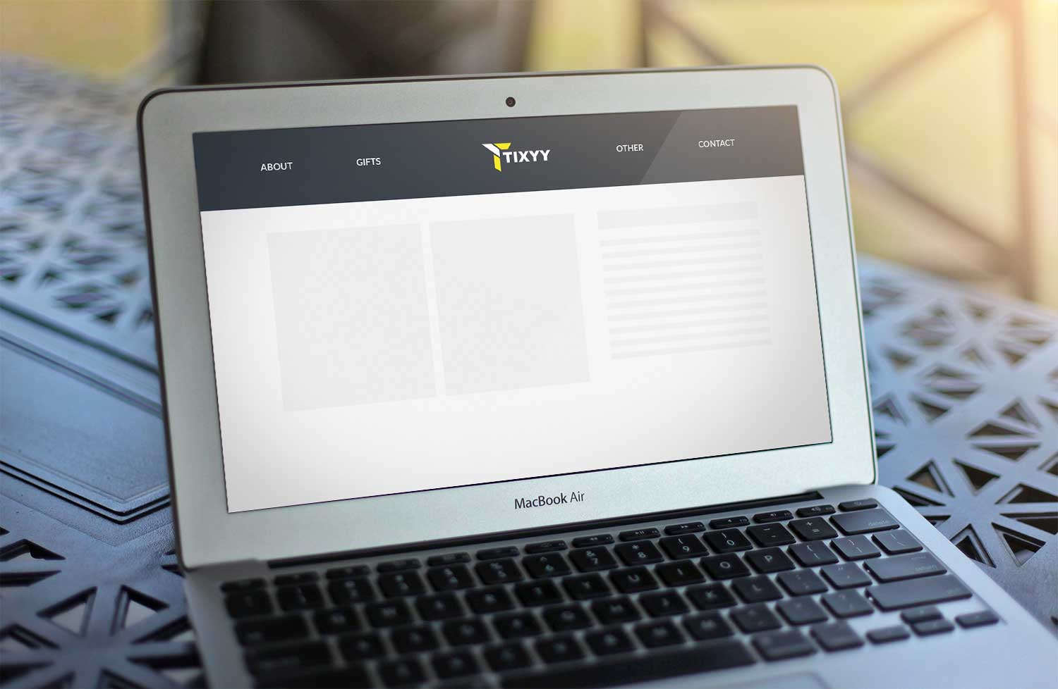 Sample branding #2 for Tixyy