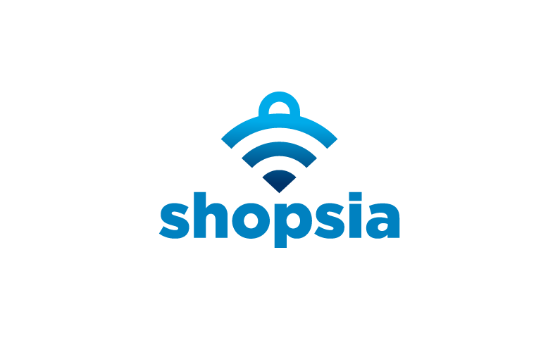 Shopsia - Alliterative shop domain name
