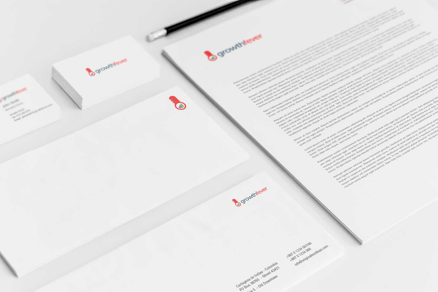 Sample branding #3 for Growthfever