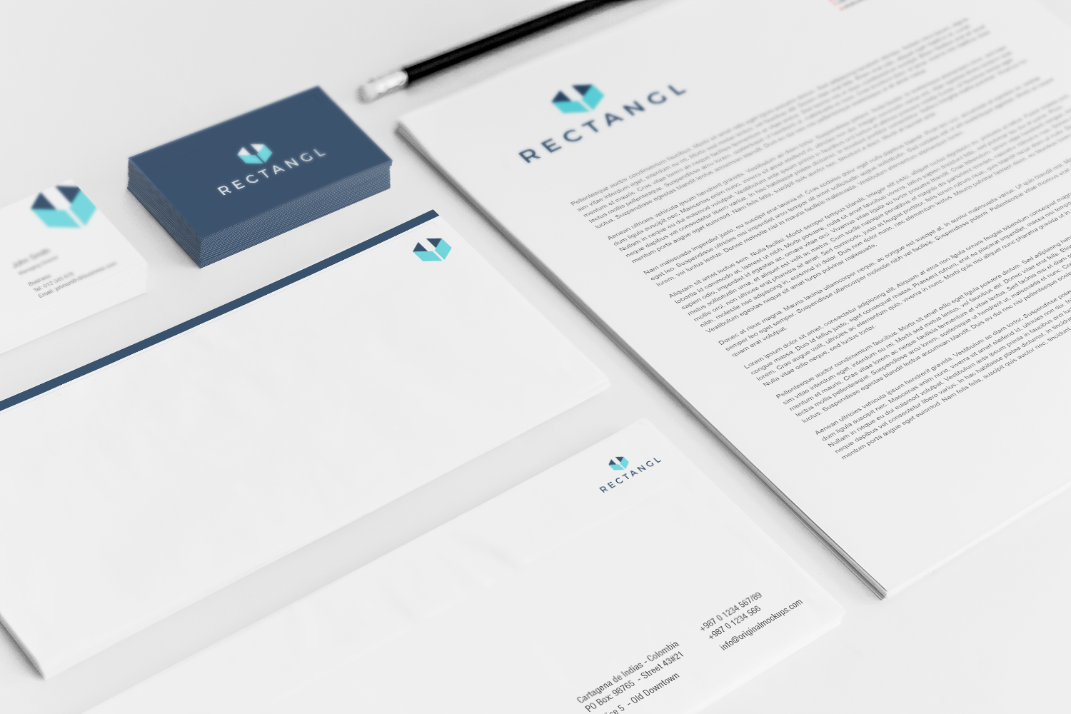Sample branding #3 for Rectangl
