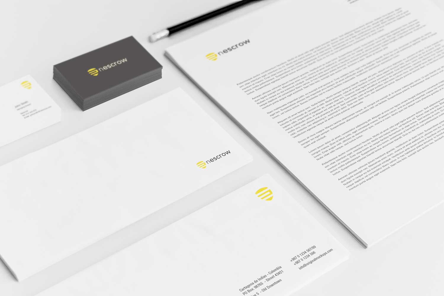Sample branding #3 for Nescrow