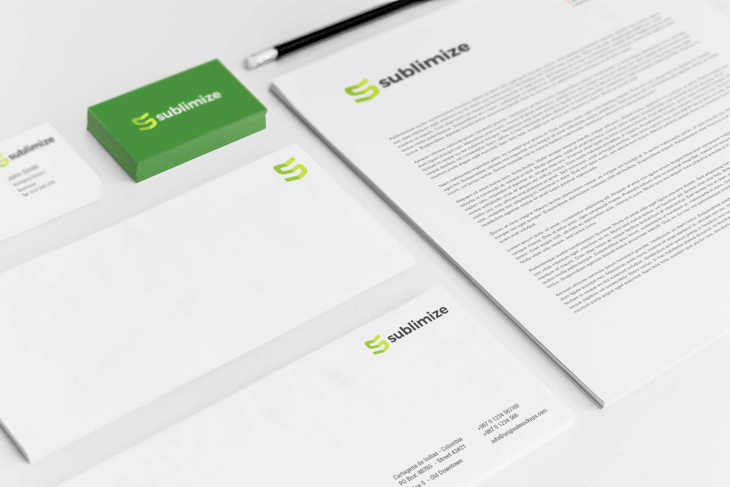 Sample branding #3 for Sublimize