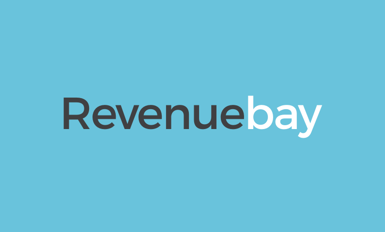 revenuebay logo - Business name for a company in the finance sector