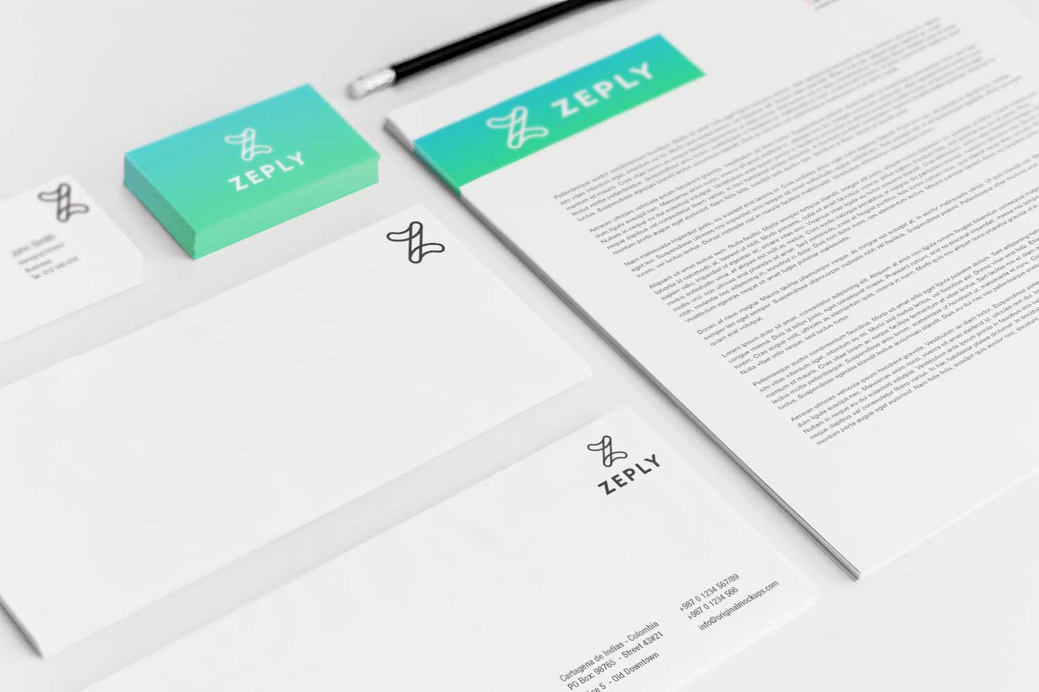 Sample branding #3 for Zeply