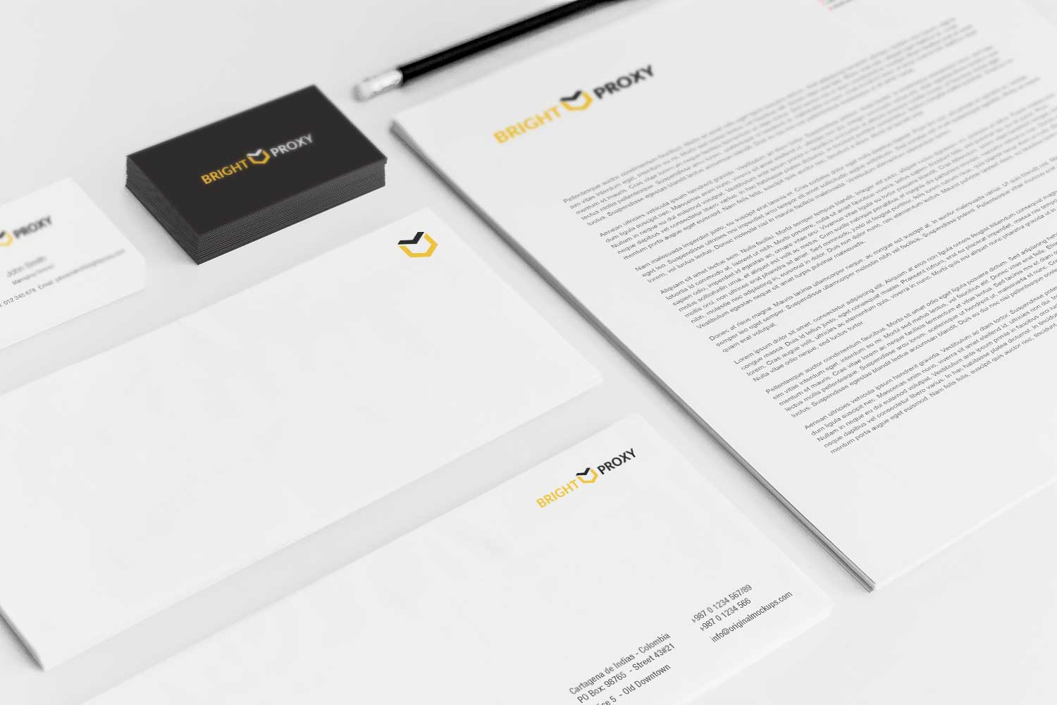 Sample branding #3 for Brightproxy