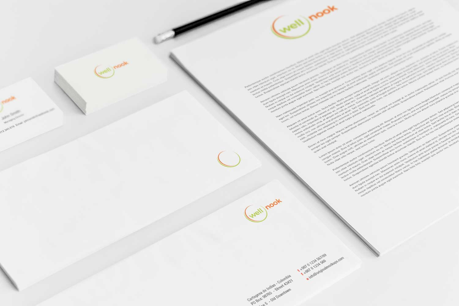 Sample branding #3 for Wellnook