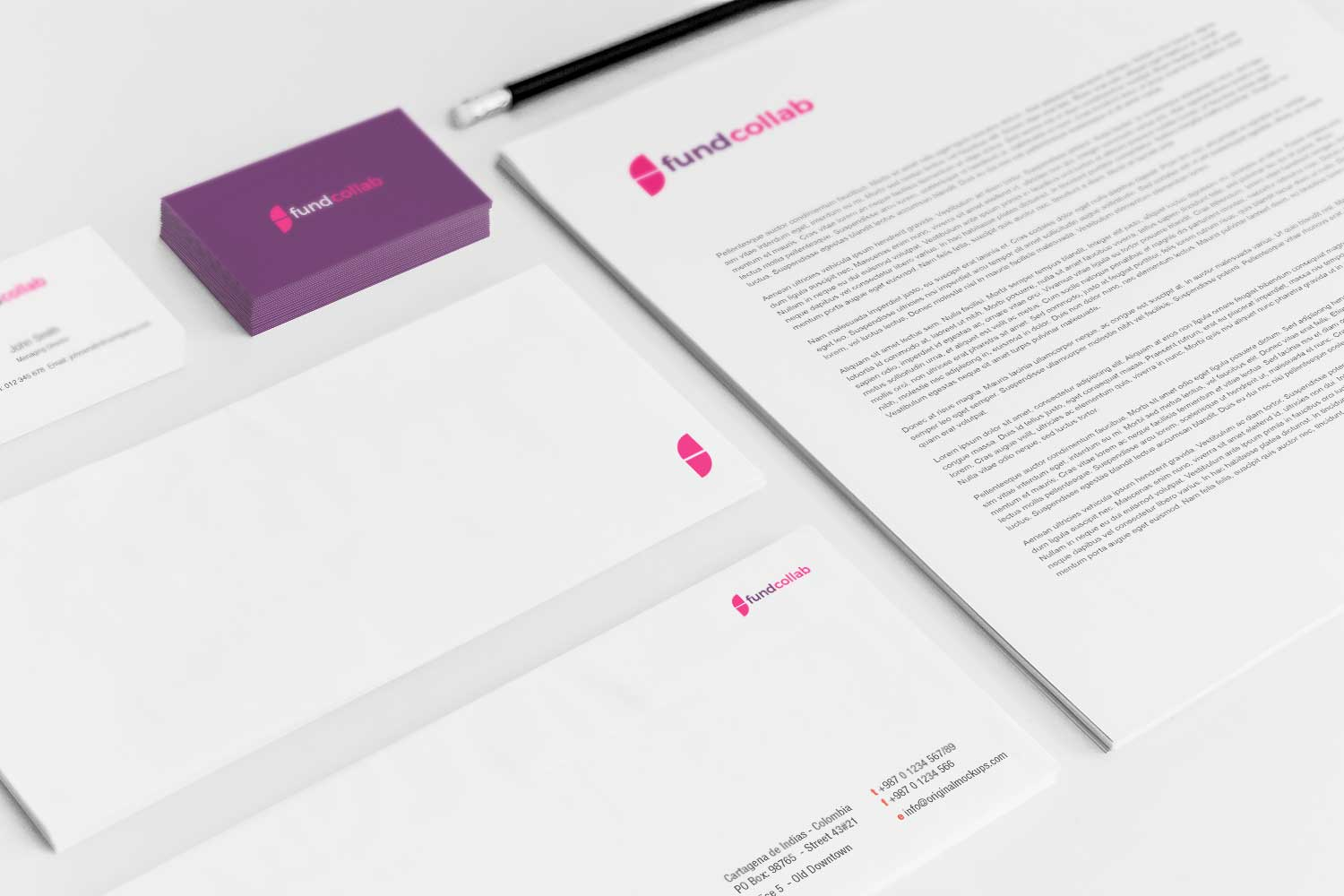 Sample branding #3 for Fundcollab