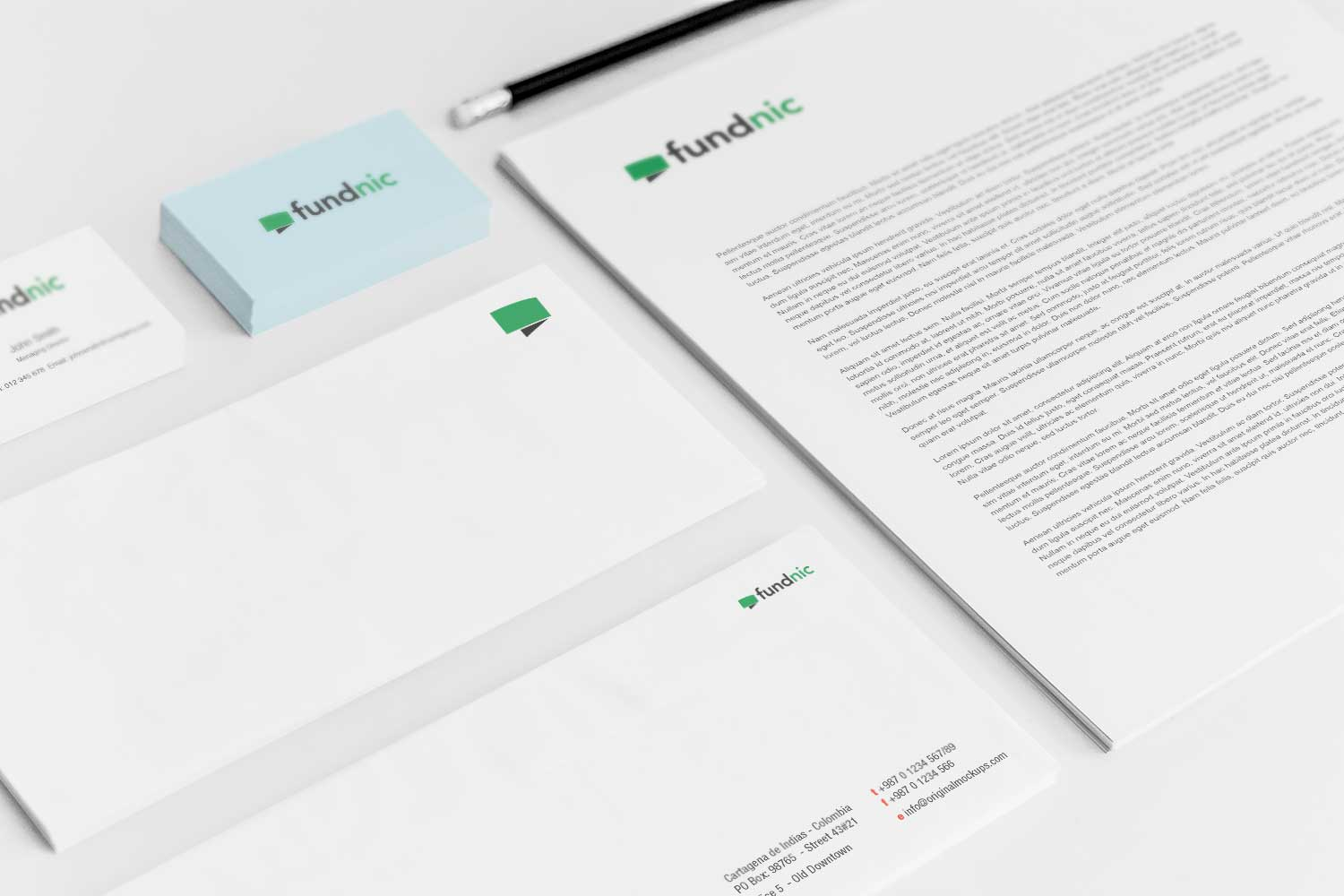 Sample branding #3 for Fundnic