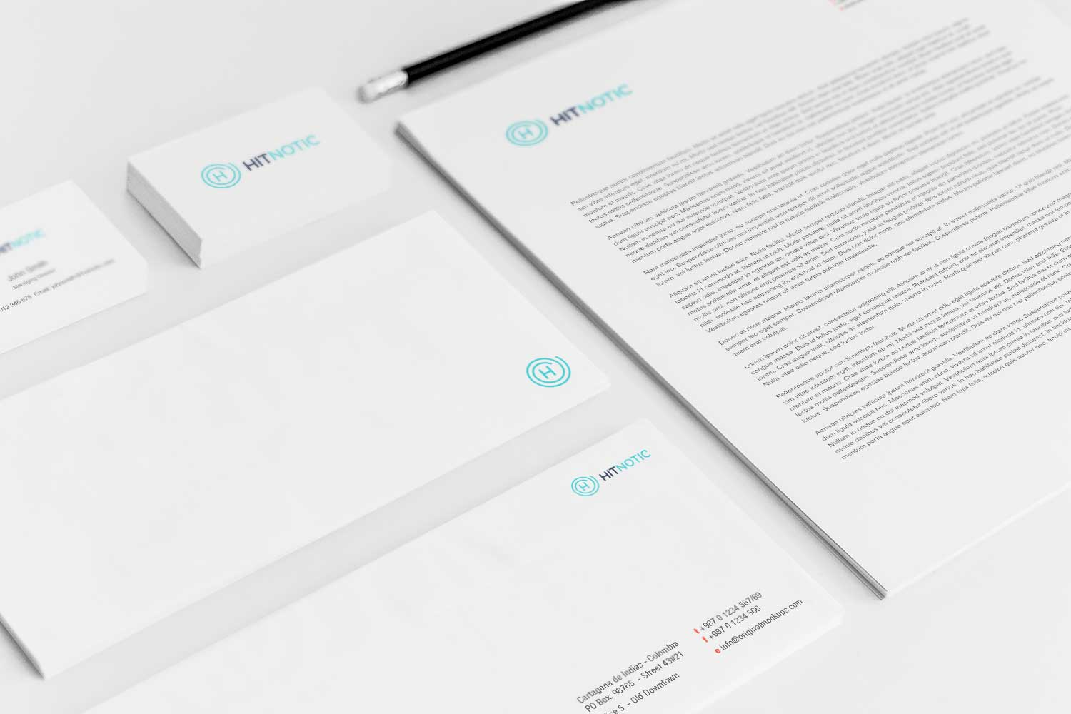 Sample branding #3 for Hitnotic