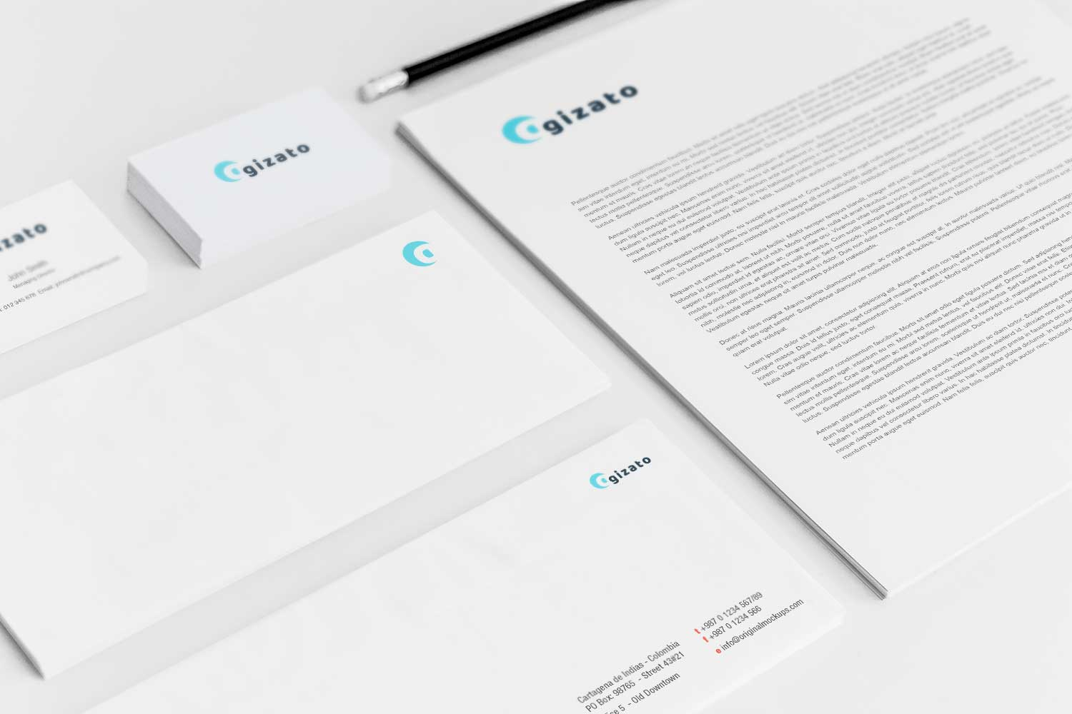 Sample branding #3 for Gizato