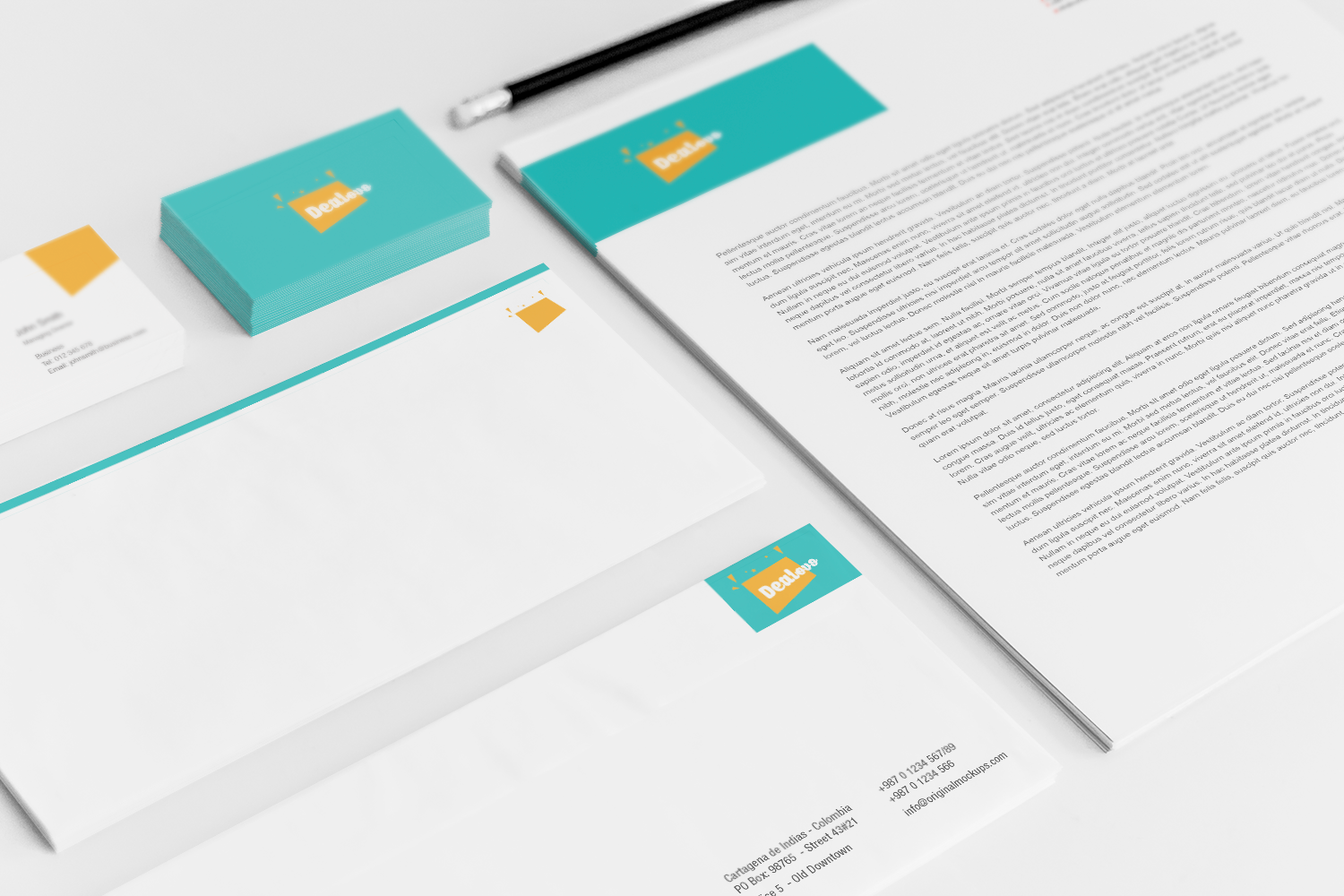Sample branding #3 for Dealovo