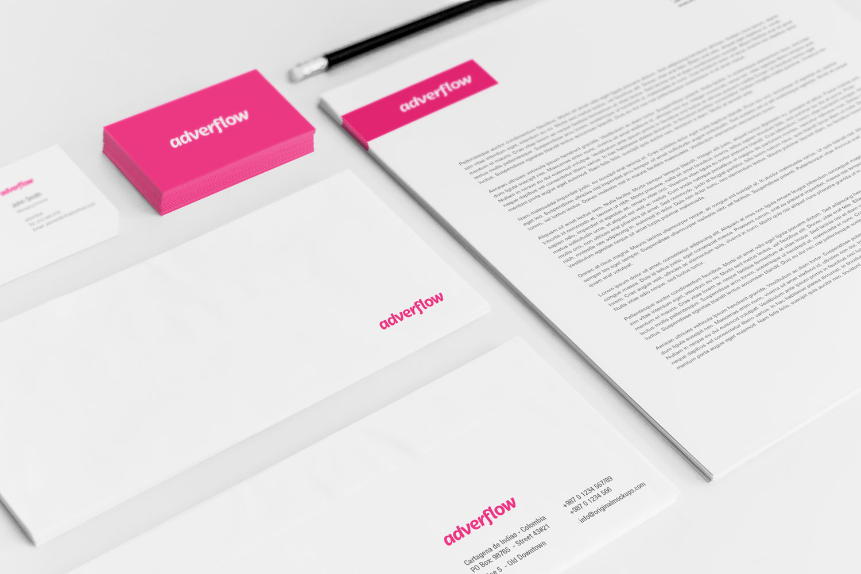 Sample branding #2 for Adverflow