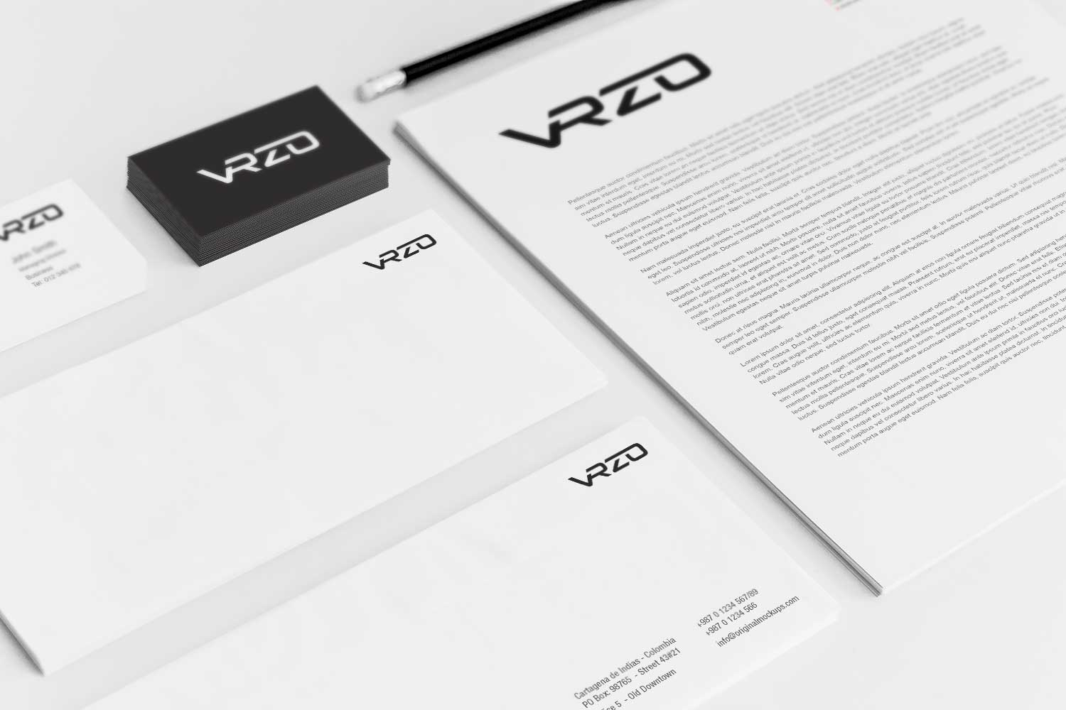 Sample branding #3 for Vrzo