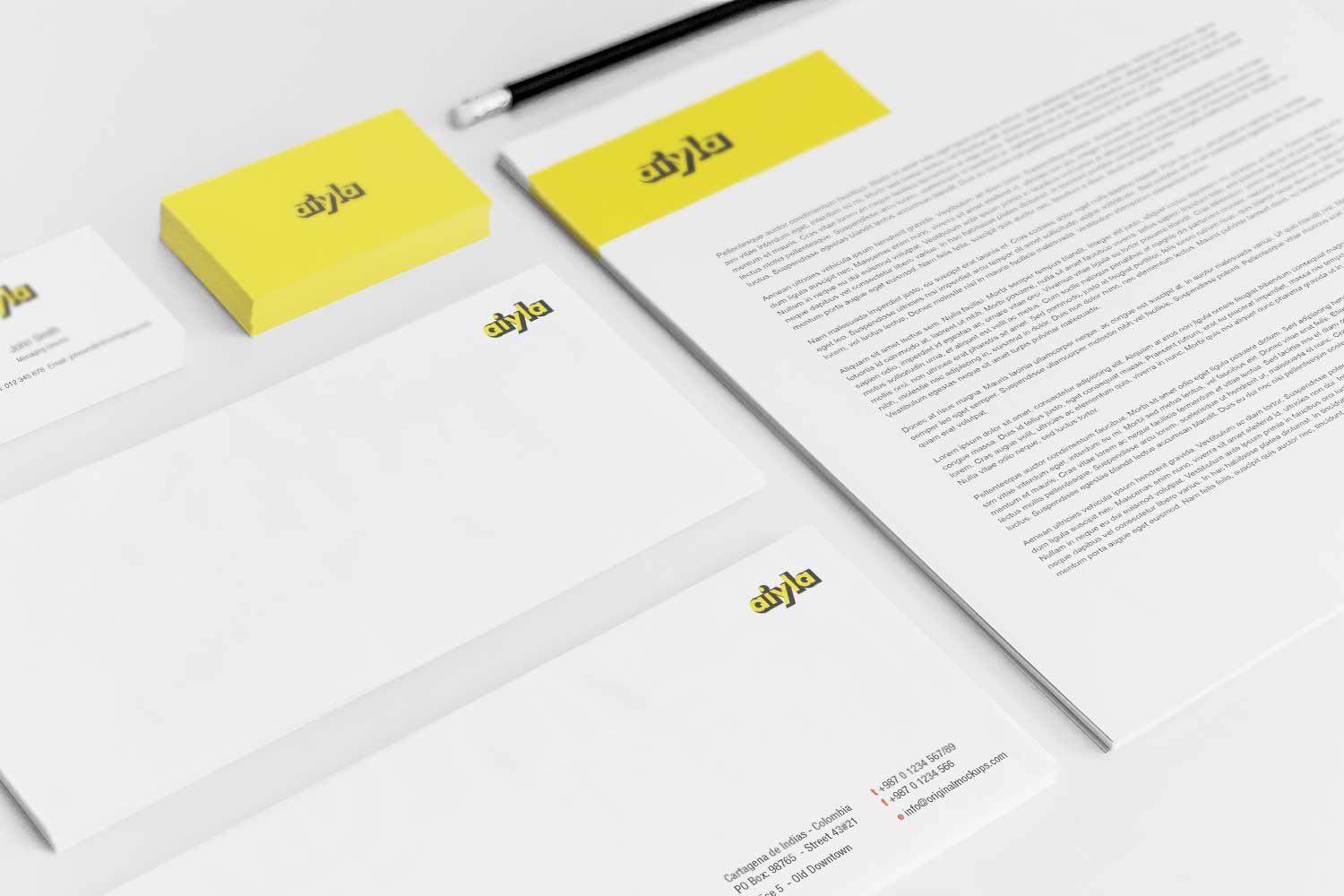 Sample branding #3 for Aiyla