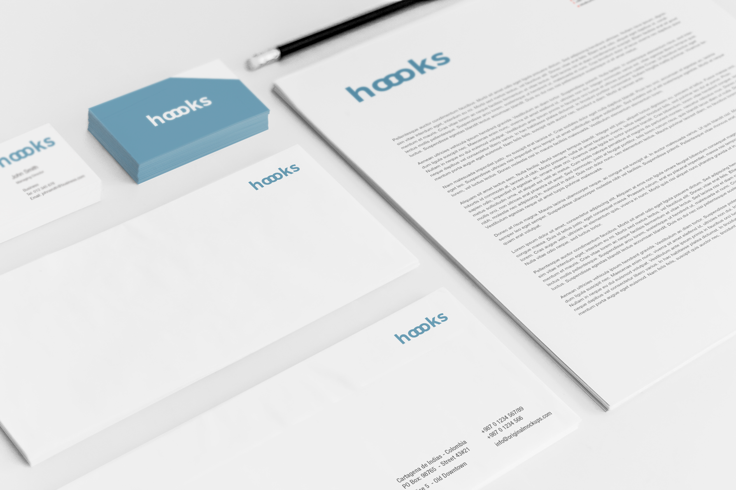 Sample branding #3 for Hoooks