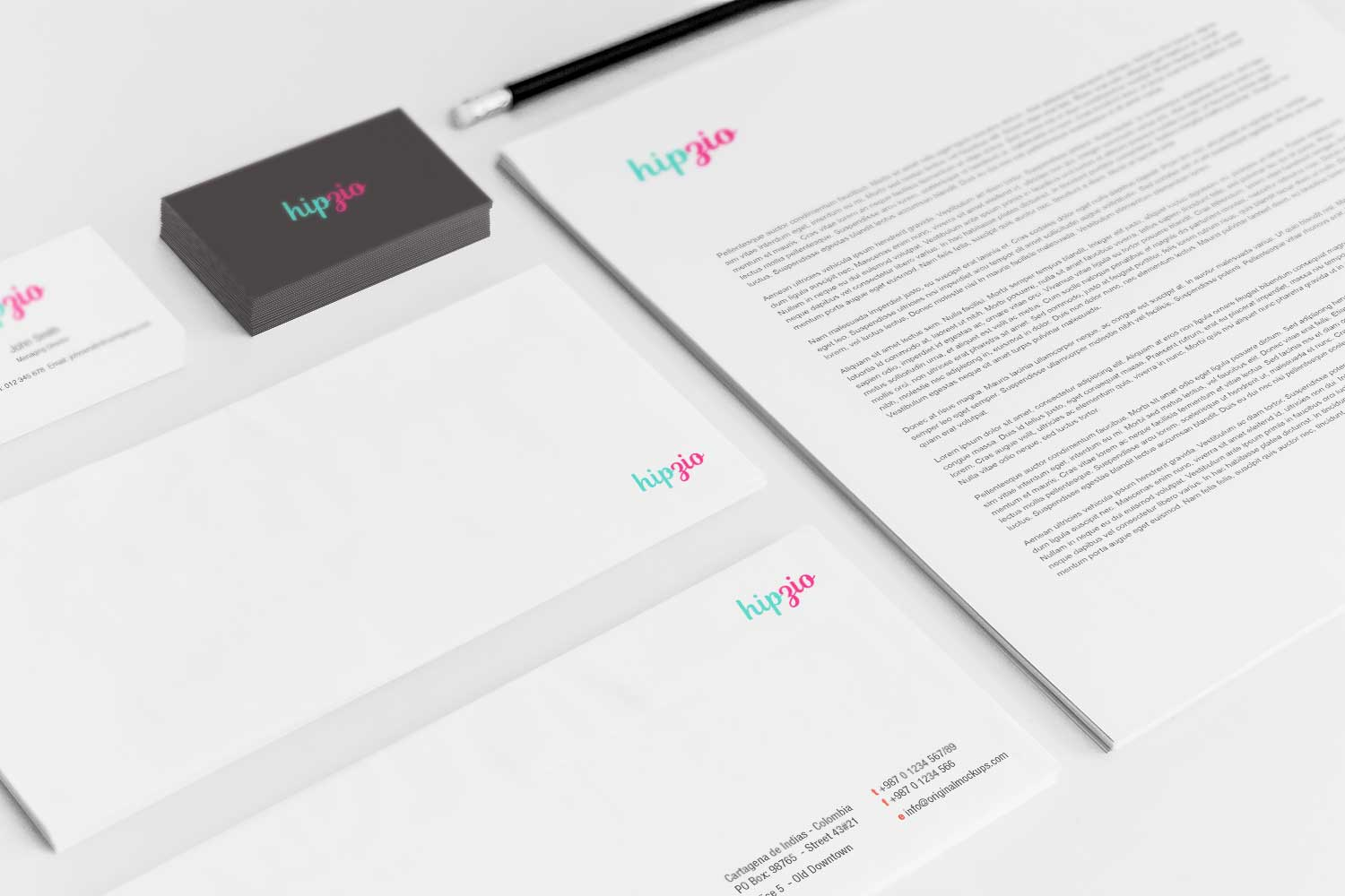 Sample branding #3 for Hipzio