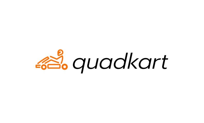 Quadkart - Fun domain name for go-kart business
