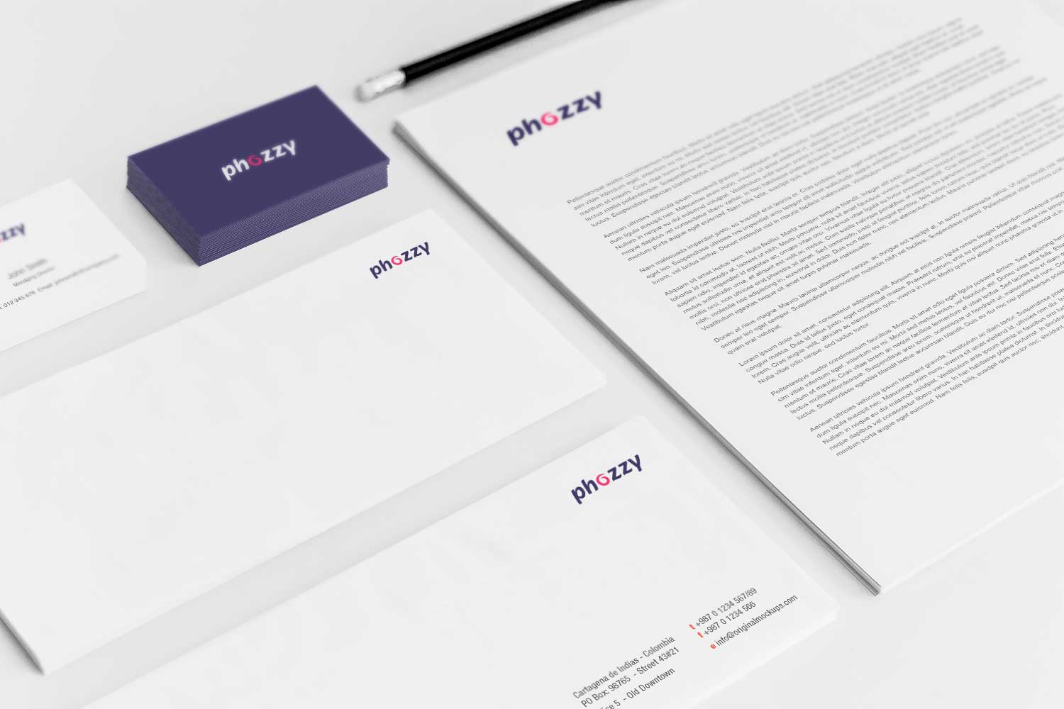Sample branding #3 for Phozzy