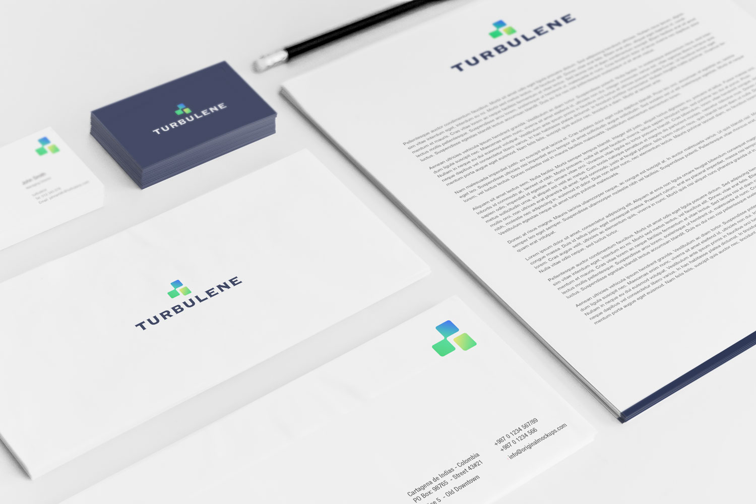 Sample branding #3 for Turbulene