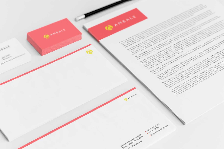 Sample branding #3 for Ambale