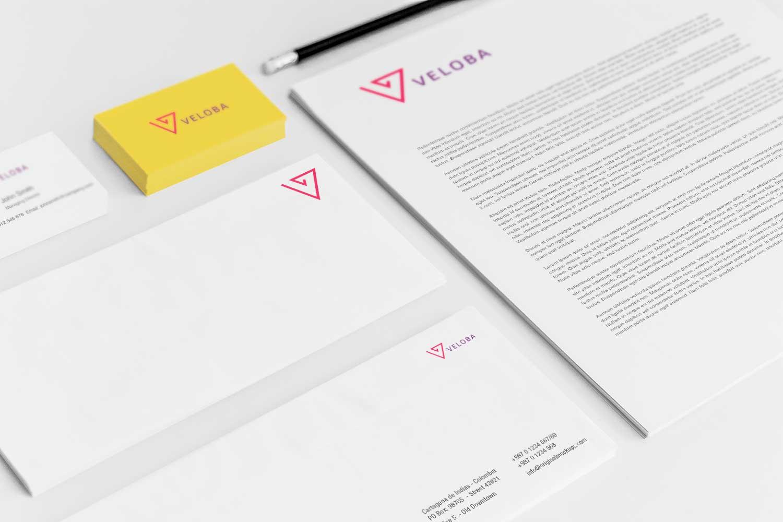Sample branding #3 for Veloba