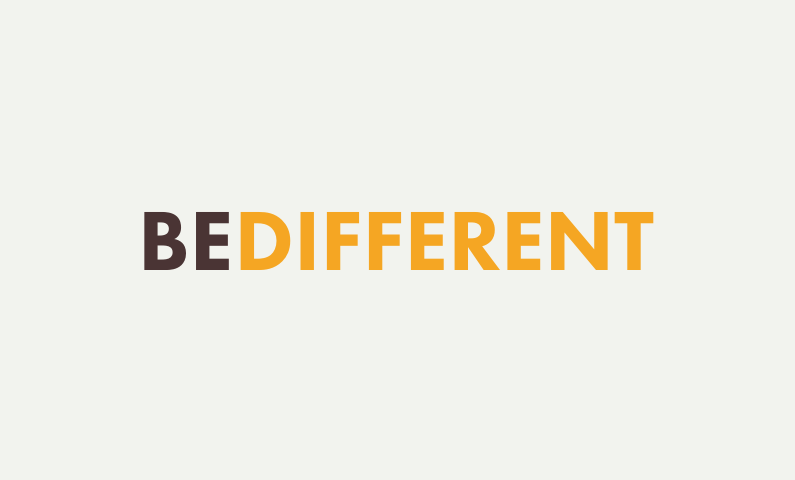 Bedifferent - Inspiring organisation name