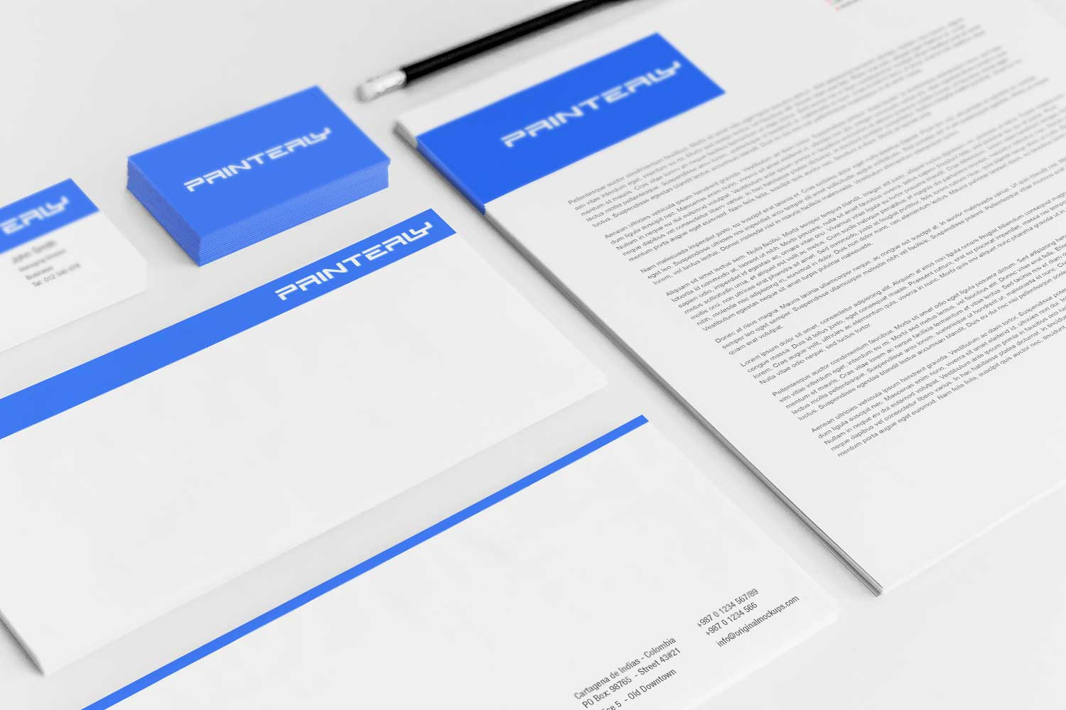 Sample branding #3 for Printerly