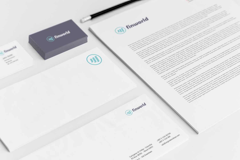 Sample branding #3 for Finworld